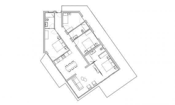 apartament quatre habitacions